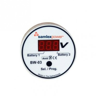 Monitor de Baterias Entrada: 6-31 Vcd con display (Bajo pedido)