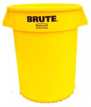 Botes BRUTE para basura de 208 L, Contenedores de basura BRUTE
