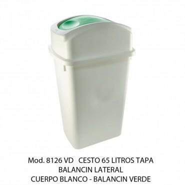 BOTE DE BASURA BALANCIN LATERAL GRANDE, SABLON