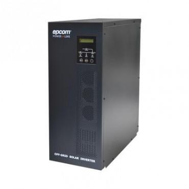 Inversor / Cargador para sistemas tipo isla de 192VCD/120VCA de 3000W onda sinusoidal pura con controlador MPPT. Administre una fuente fotovoltaica, la red eléctrica y recargue su banco de baterías y su consumo sin problemas