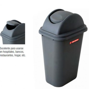 Cesto para basura CON tapa de columpiO, PELDAÑOS