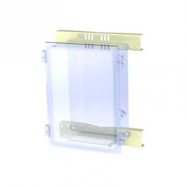 Montaje de poste para gabinete NEMA TXG-4050 y TXT-4050